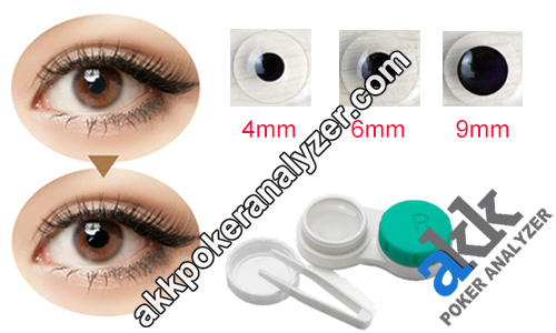 Marked Cards Contact Lenses For Brown Eyes
