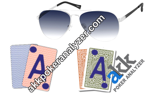 Aviator IR Glasses For Luminous Marked Cards