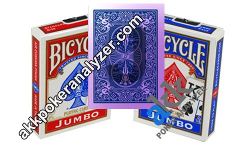 Bicycle Jumbo Poker Size Paper Marked Cards