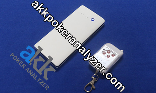 Three-lens Power Bank Poker Cards Scanner