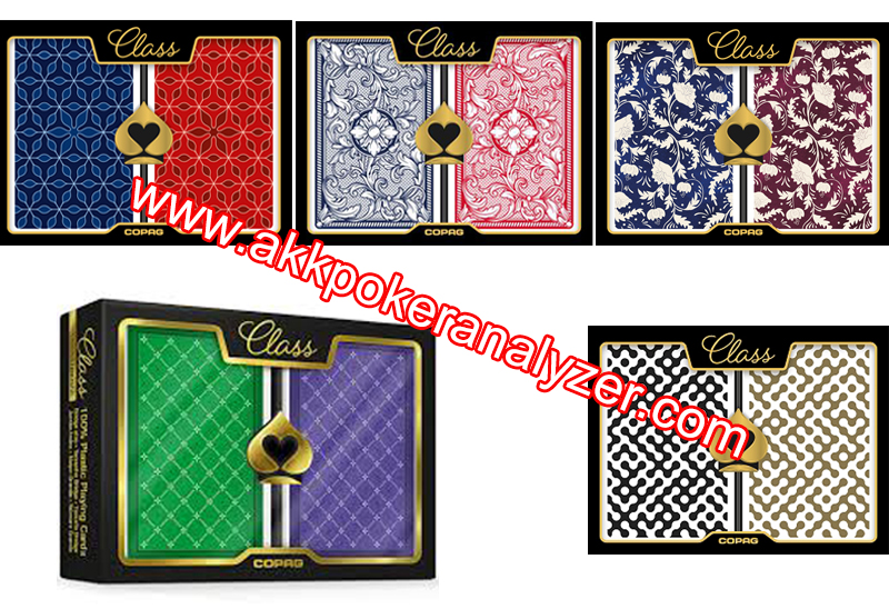 Copag Class Series Poker Camera Marked Cards