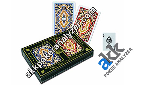 KEM Paisley Contact Lenses Marked Cards