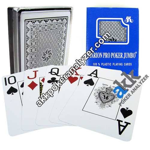 Marion Pro Poker Jumbo Infrared Marked Cards