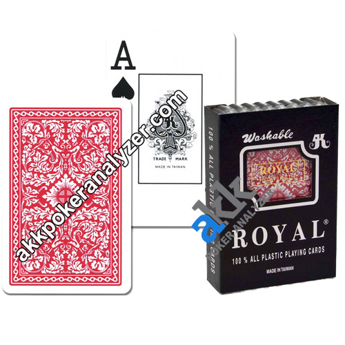 Royal Plastic Marking Playing Cards