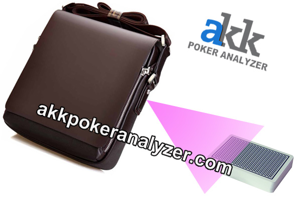HD Men Bag Scanning Camera For Poker Analyzer