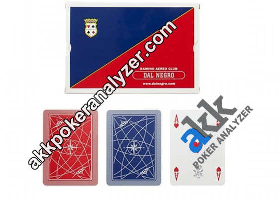 Dal Negro Aereo Club Invisible Playing Cards
