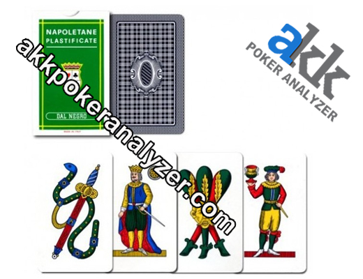 Dal Negro Neapolitan Plastified Marked Playing Cards