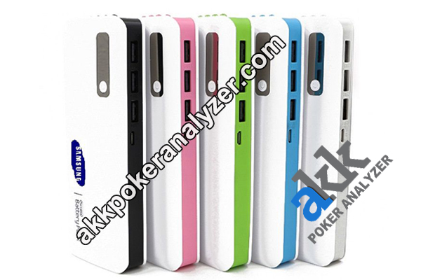 Colorful Power Bank Playing Cards Scanner