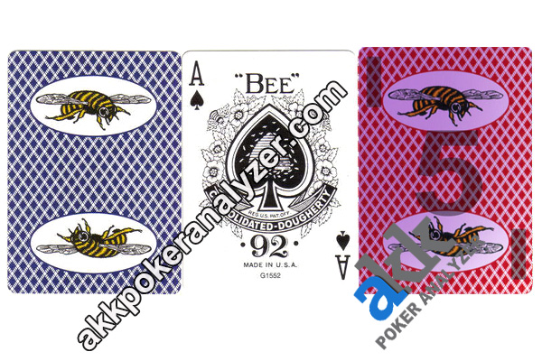 Regular Bumble Bee Infrared Marked Cards