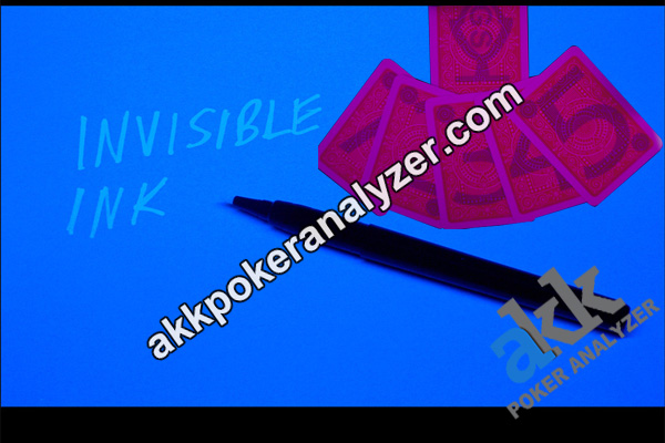 Invisible Ink Pen For Marked Poker Cards