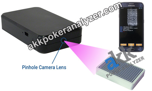 Black Box Long Distance Poker Camera Lens