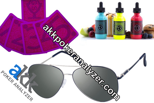 Aviator Contact Lenses Juice Marked Cards