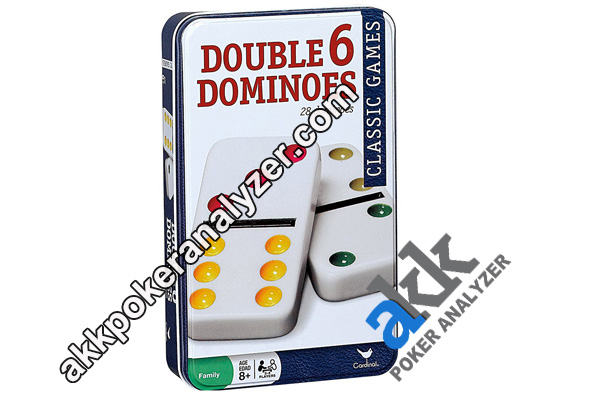 Professional Double Six Marked Domino