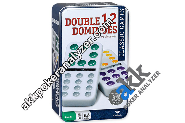 Marked Double Twelve Domino For IR Contact Lenses