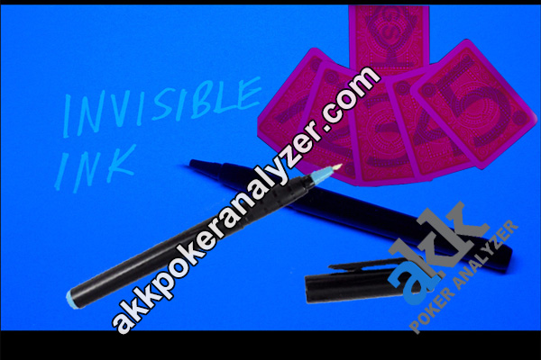 White Invisible Ink Pen For Marking Playing Cards