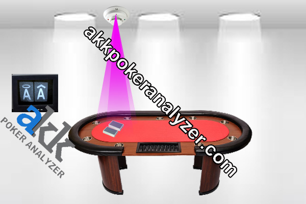 Smoke Detector Camera Background Poker System